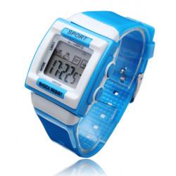 SYNOKE Fashion Boys Girls LED Alarm Waterproof Digital Wrist Watch