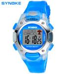SYNOKE Fashion Children Waterproof Sport PU Digital Wristwatch Watch