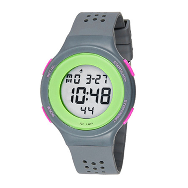 SYNOKE Silicone Jelly Swim Waterproof Alarm Sport Digital Watch Watch
