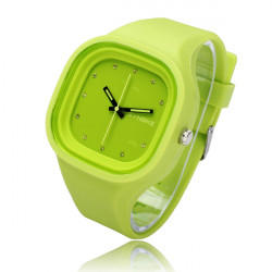 SYNOKE Waterproof Noctilucence Needle Silicon Quartz Watch