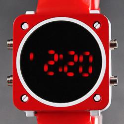 Silcone Digital LED Watch