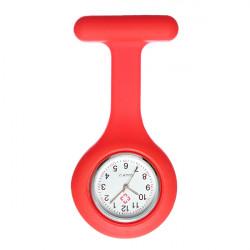 Silicone Nurse Brooch Fob Tunic Pendant Candy Quartz Watch