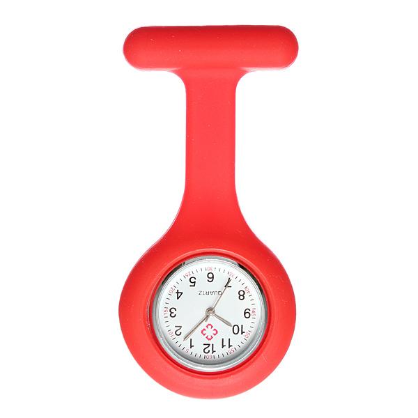 Silicone Nurse Brooch Fob Tunic Pendant Candy Quartz Watch Watch