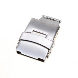 Stainless Steel Double Press Watch Butterfly Double Snap Button