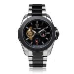 TEVISE 24h Display Flywheel Mechanical Stainless Steel Men Watch Watch