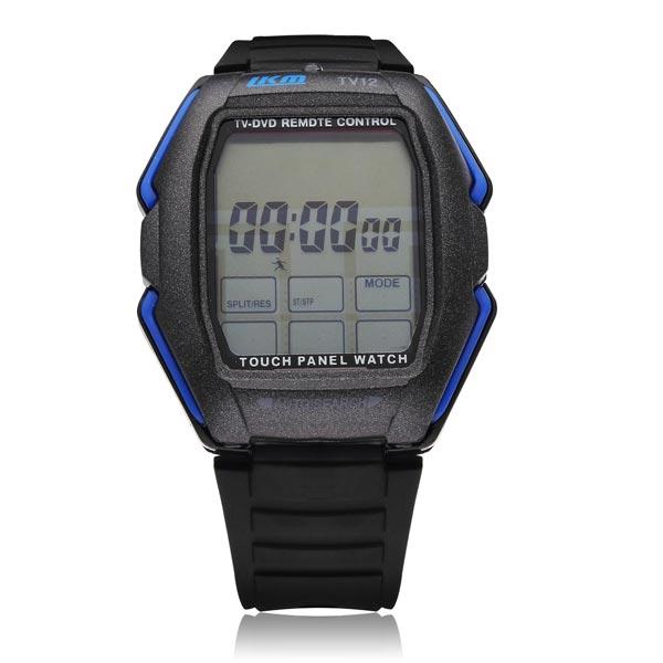 TVG Sport Digital Touch Screen Black Men Women Children Wrist Watch Watch
