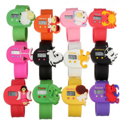 The Twelve Constellations Children Electronics Cartoon Pops Watch