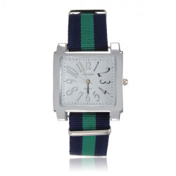 Two Colors Canvas Watch