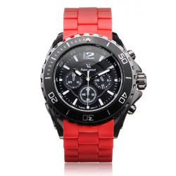V6 V0202 Super Speed Sport Big 3 Dial Men Quartz Wrist Watch
