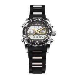 WEIDE 2316 Alarm Sport Outdoor Dual Time Men Wrist Quartz Watch