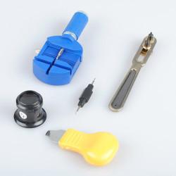 Watch Horologe Opener Remover Repair Tool Set Kit Part