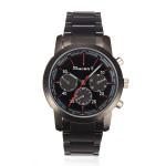 Wilon 1004k2 Black 3 Dial Fashion Stainless Steel Men Wrist Watch Watch