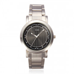 Wilon 1010 Men Quartz Stainless Steel Casual Wrist Watch