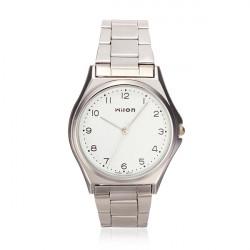 Wilon 908 Men Stainless Steel Quartz Slim Thin Wrist Watch
