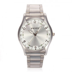 Wilon 960 Men Quartz Stainless Steel Fashion Casual Wristwatch
