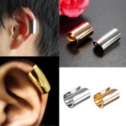 1pc Punk U Shape Wrap Earring Clip Ear Cuff Gold Silver Plated