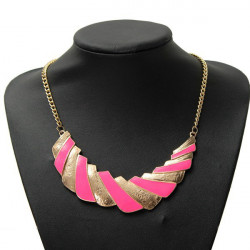 Bohemia Alloy Geometric Clavicle Choker Pendant Necklace For Women