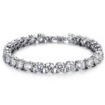Cubic Zirconia Diamond Bride Bracelet Wedding Jewelry Fine Jewelry