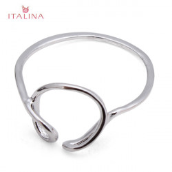 Italina Gold Silver Irregular Knuckle Pinky Finger Ring For Women