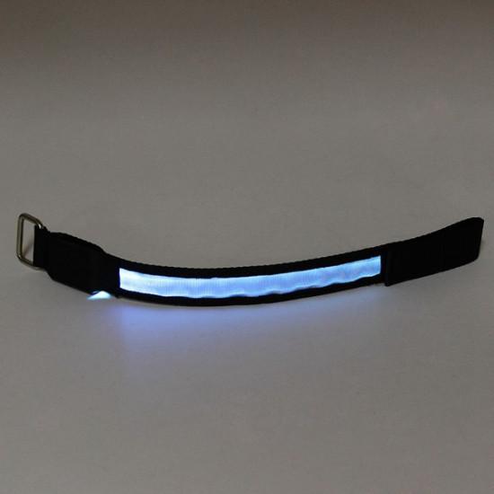LED Armband Safety Reflective Belt Strap Snap Wrap Bracelet Flashing 2021