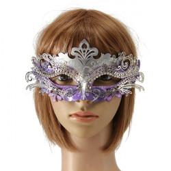 Laser Cut Metal Half Face Eye Mask Venetian Masquerade Mask