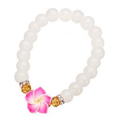 Natural Stones Agate Bracelet Crystal Bead Strand Bracelet