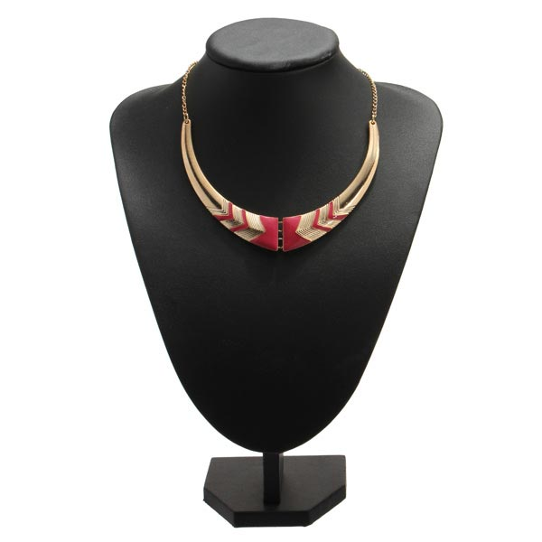 Vintage Foldable Statement Nations Style Choker Collar Necklace Women Jewelry