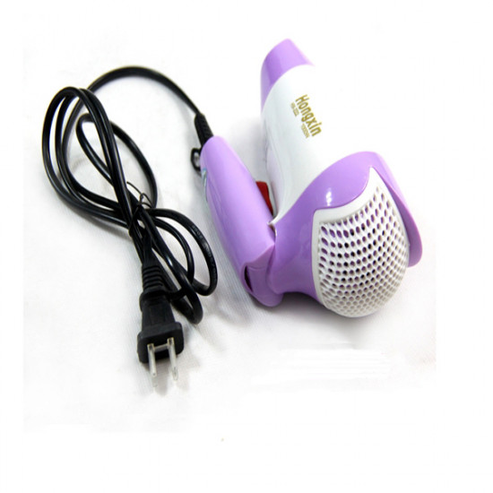 1000W HX-222 Hot And Cold Wind Foldable Hair Dryer 2021