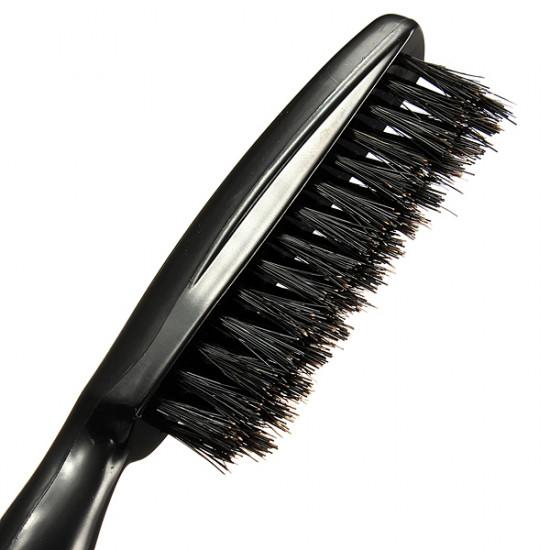 Professional Salon Black Hairdressing Teasing Tangle Hair Brush Comb 2021