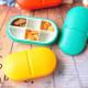 6 Partitions Portable Medicine Organizer Pill Box Case 2021