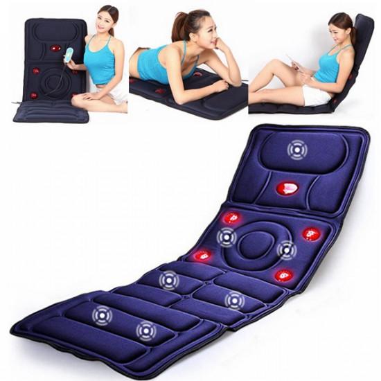 Collapsible Full-body Massage Mattress Multifunction Massager Cushion 2021