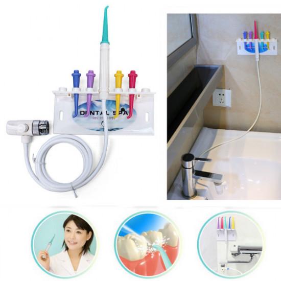 Dental Spa Unit Oral Irrigator Teeth Cleaner Floss Water Jet 2021