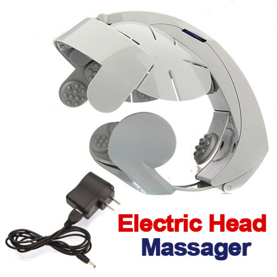 Electric Head Massager Brain Massage Relax Acupuncture Points 2021