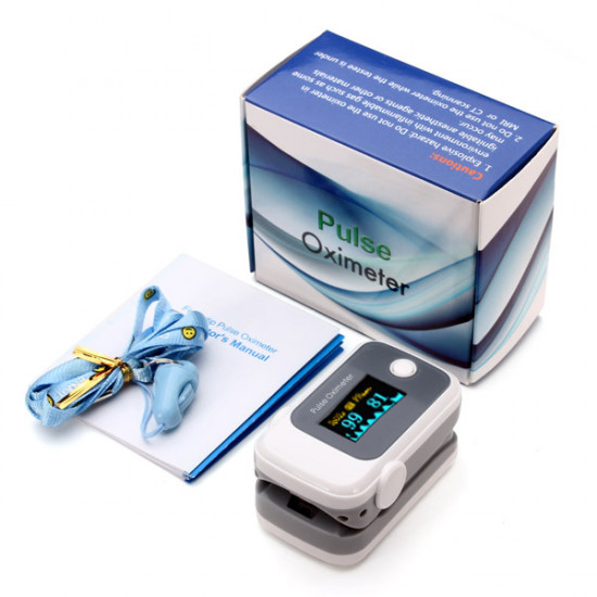 Fingertip Pulse Oximeter SpO2 Blood Oxygen Saturate Heart Rate Monitor 2021