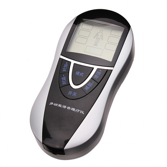 Multifunction Voice Electronic Physiotherapy Acupuncture Massager 2021