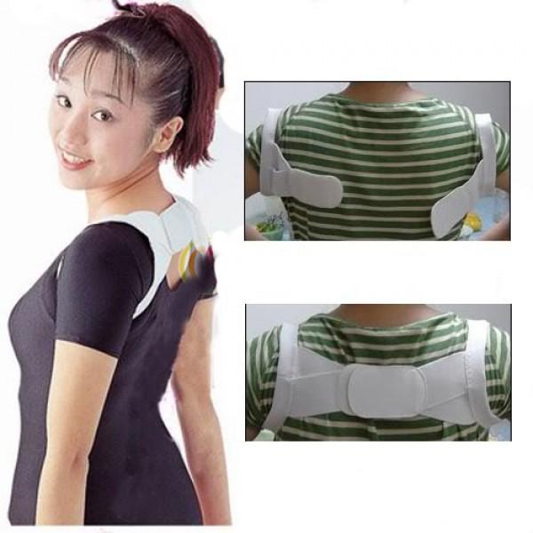Back Posture Brace Corrector Shoulder Support Band Belt
