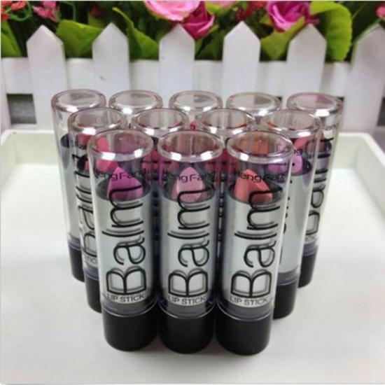 12 Colors Heng Fang Waterproof Long Lasting Lipstick Lip Balm Makeup 2021