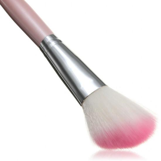 12pcs Cosmetic Makeup Powder Brush Set Foundation Leather Case 2021