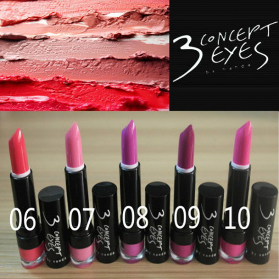 3CE Lipstick Charming Gloss 15 Colors 3 Concept Eyes 2021