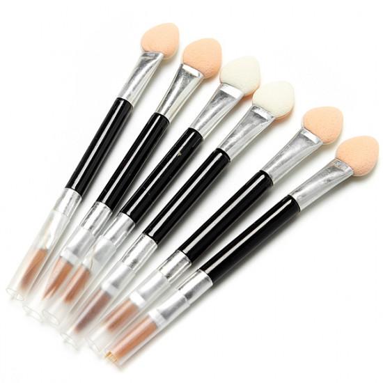 50Pcs Disposable Sponge Eye Shadow Lip Brushes Applicator Set 2021