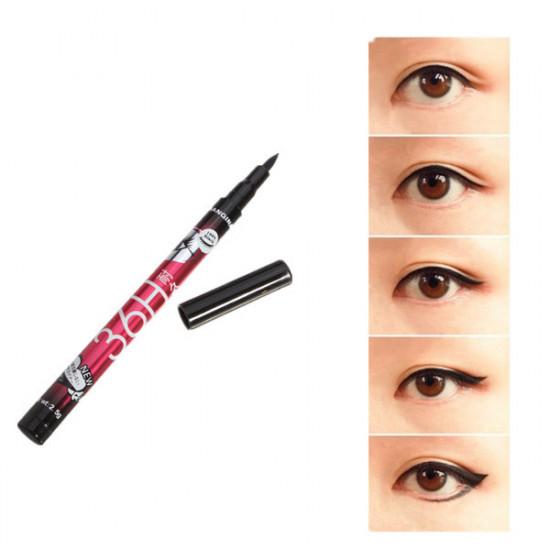 Black Waterproof Liquid Eyeliner Pen Long Lasting EyeLiner Pencil 2021