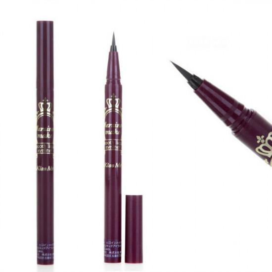 Kiss Me Smooth Liquid Eyeliner Pen Waterproof Black 0.4ML 2021