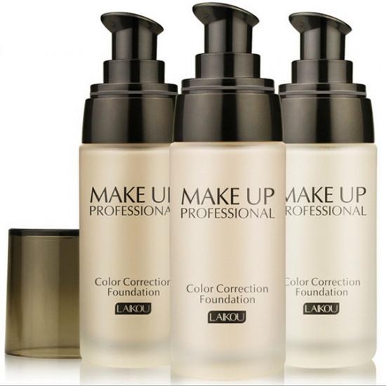 LAIKOU 40ml Liquid Foundation Whitening Concealer Makeup Tool 2021