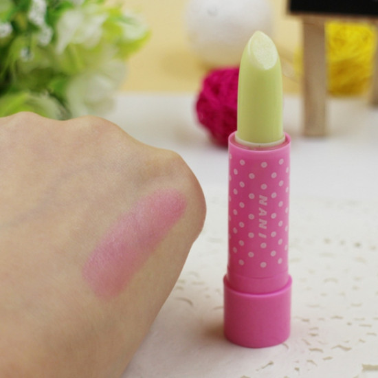 Magic Changing Color Lip Cream Lipstick Fruity Smell Waterproof 2021