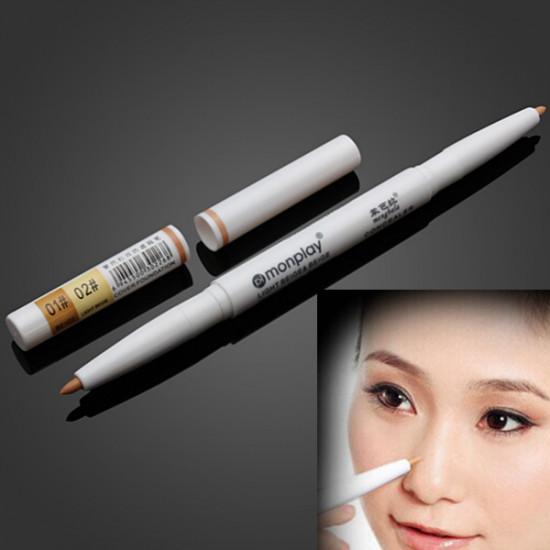 Makeup Dark Circle Acne Natural Color Ivory White Concealer Pen 2021