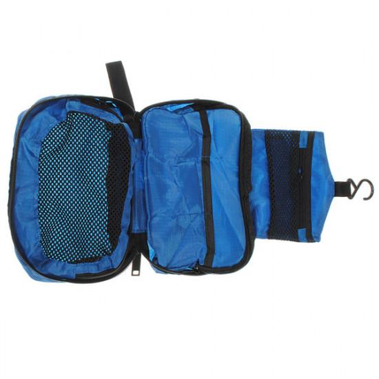 Travel Nylon Wash Bag Storage Organizer Mesh Zipper 2021