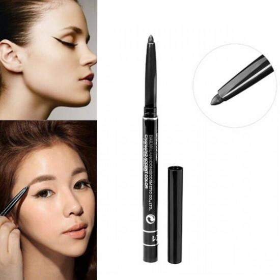 Waterproof Automatic Eyeliner Pen Long Lasting Eyebrow Pencil 2021