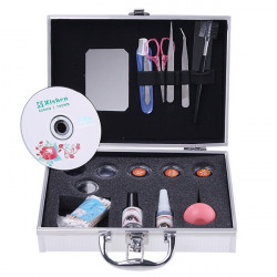 Eye Lash False Eyelashes Extension Kit Full Set Case