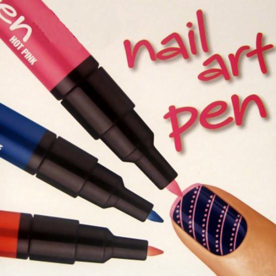 12 Colors Nail Art Drawing Pen Nail Varnish Polish Design Paint Pen 2021