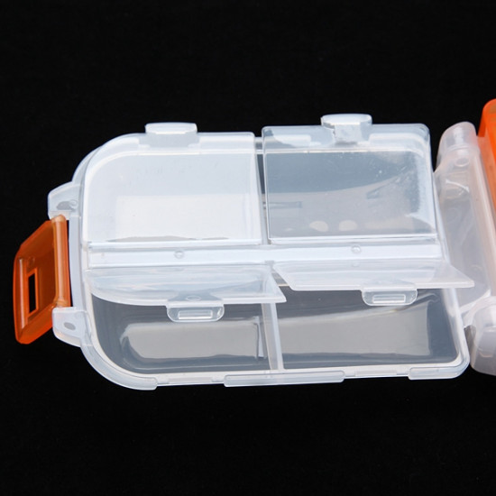 1Pcs Plastic Nail Tips Storage Case Jewelry Container Box 2021